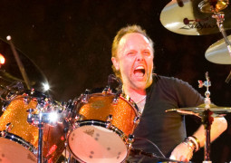 Will Ferrell and Chad Smith challenge Metallica's Lars Ulrich to a drum-off