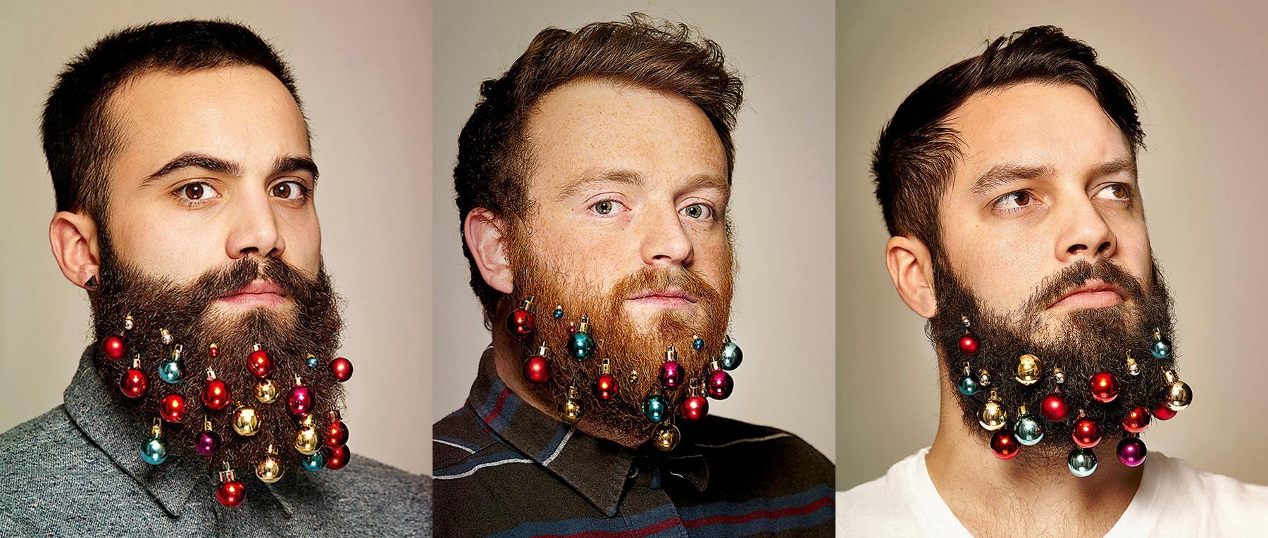 The Latest Beard Craze: Christmas Ornaments | Subtv