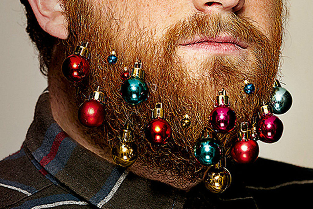 the latest beard craze christmas ornaments - Christmas Beard
