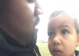 Watch Kanye West walk through a field with daughter North in 'Only One' video