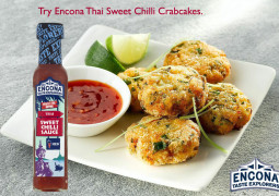 Encona Recipes: Thai Sweet Chilli Crabcakes