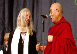 WATCH – Glastonbury crowds sing Happy Birthday to the Dalai Lama