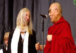 WATCH – Glastonbury crowds sing Happy Birthday to the Dalai Lama