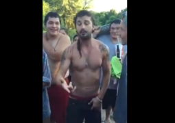 Here's Shia LaBeouf freestyle-rapping for some reason