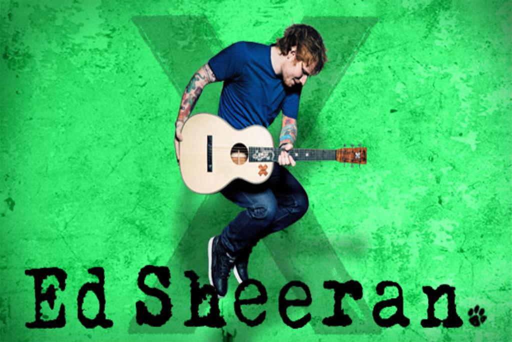 Sign Ed Sheeran Quot X Quot Multiply Album Vinyl 9 Quot X 9 Quot New Ebay