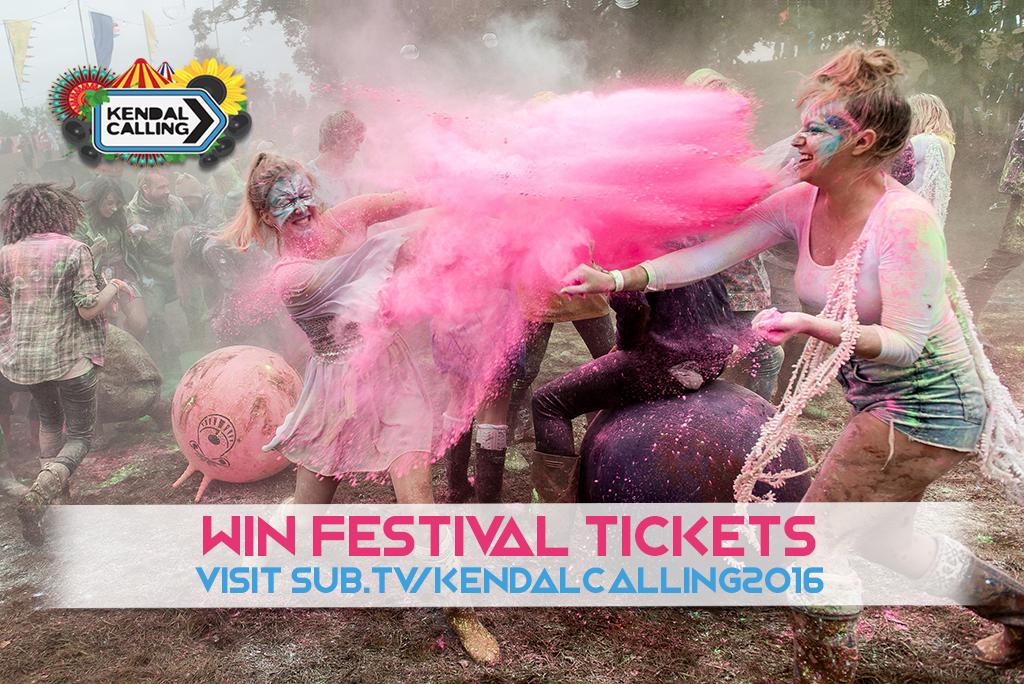 Kendal Calling: Win Festival Tickets